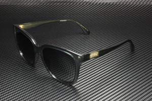 GUCCI GG0790S 001 Rectangular Squared Grey Dark Grey 56 mm Women's Sunglasses