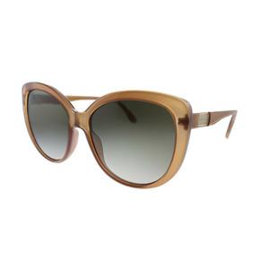 GUCCI GG0789S 002 Brown Square Cat Eye 57 mm Women's Sunglasses