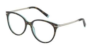 TIFFANY TF2209 8286 Havana Round Women's 54 mm Eyeglasses