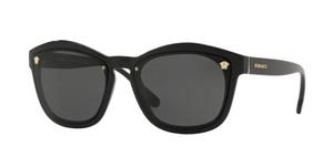 VERSACE VE4350 GB1 87 Black Square Rectangle Women's 57 mm Sunglasses