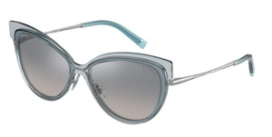 TIFFANY TF3076 83271U Light Blue Cat Eye 57 mm Women's Sunglasses