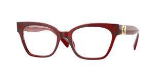 VERSACE VE3294F 388 Bordeaux Cat Eye Women's 53 mm Eyeglasses