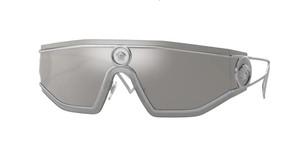 VERSACE VE2226 10006G Silver Rectangle Women's 45 mm Sunglasses