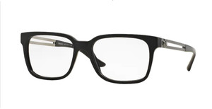 VERSACE VE3218 5122 Matte Black Square Rectangle 53 mm Eyeglasses
