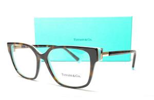 TIFFANY TF2197F 8134 Havana Demo Lens Women's Eyeglasses 54 mm
