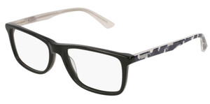 PUMA PJ0020O 001 Black Rectangle Kid's 51 mm Eyeglasses