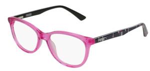 PUMA PJ0021O 001 Pink Oval Round Kid's 47 mm Eyeglasses