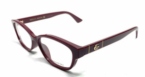 GUCCI GG0639OA 003 Burgundy Women Authentic Eyeglasses Frame 53 mm