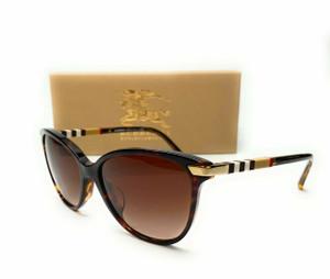 Burberry BE4216 300213 Dark Havana Brown Gradient Women Sunglasses 57mm