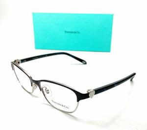 TIFFANY TF1072 6107 Navy Blue Women Cat Eye Demo Lens Eyeglasses Frame 51-15