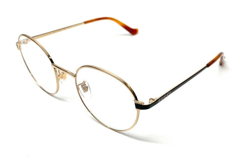 Gucci GG0581O 005 Gold Unisex Authentic Eyeglasses Frame 50-21-B2