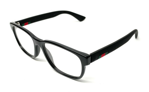 Gucci GG0011O 001 Black Men's Authentic Eyeglasses Frame 53 A10