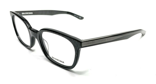 Balenciaga BB0027O 003 Grey Unisex Authentic Eyeglasses Frame 51-21