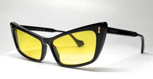 GUCCI GG0626S 002 Black Unisex Sunglasses 58 mm