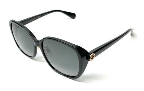 Gucci GG0371SK 001 Black Women's Sunglasses 57 mm