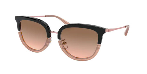 TORY BURCH TY6073 178311 Black / Blush Cat Eye Women's 53 mm Sunglasses