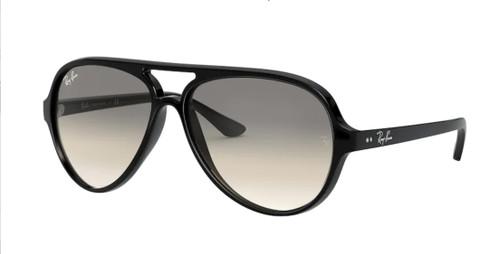 RAY BAN RB4125 601 32 Black Pilot Men's 59 mm Sunglasses