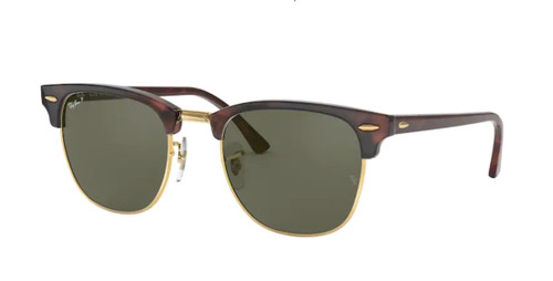 RAY BAN RB3016 990 58 Red Havana Square 51 mm Polarized Women's Sunglasses