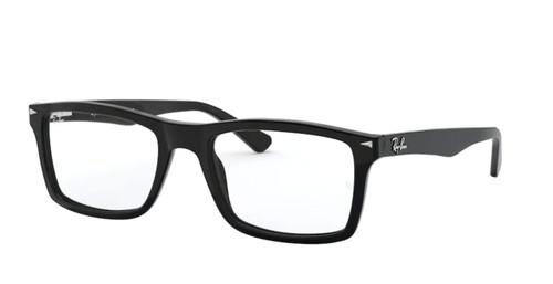 RAY BAN RX5287 2000 Black Rectangle Men's 52 mm Eyeglasses
