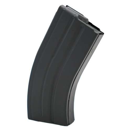 AR-15 20rd 7.62x39 Black Marlube Stainless Steel Magazine with Black Follower