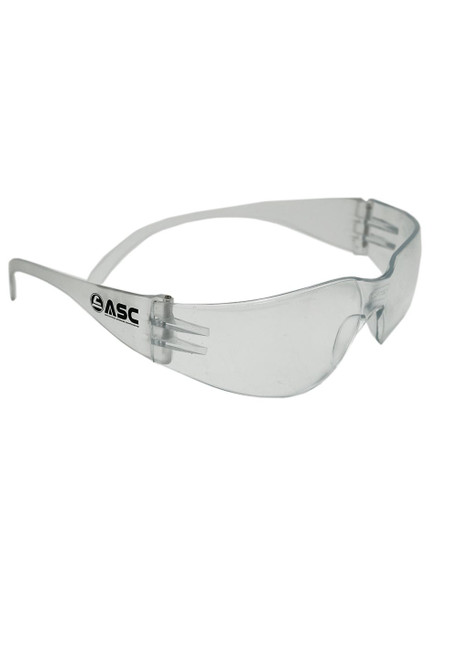 Clear Polycarbonate Shooting Glasses