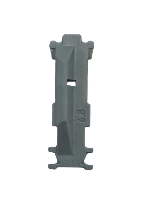 Grey  Follower for 6.8 SPC AR-15 Magazines