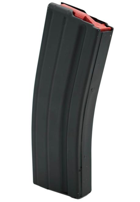 ASC | AR-15 Stainless Steel 25rd 6mm Arc Magazine w/red follower
