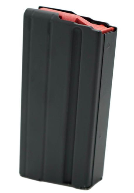 Ammunition Storage Components 15rd 6mm Arc Black Marlube Magazine with Red Follower