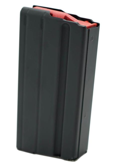 Ammunition Storage Components 15rd 6mm Arc Black Marlube Magazine with Red Follower