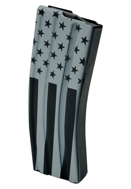 30rd .223/5.56 Stainless Steel Magazine with Veterans Day design.