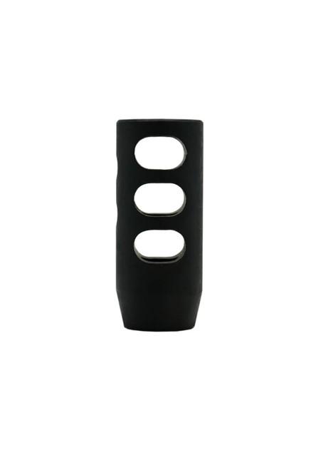 Black Nitride .308 Compensator vertical profile