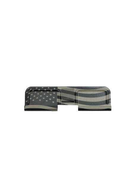 Laser Engraved American Flag AR-15 Dust Cover