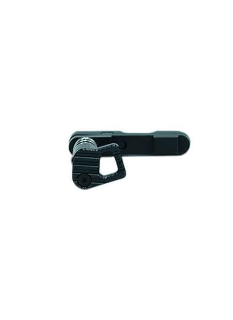 AR-15 Ambidextrous Magazine Catch side profile 1