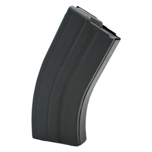 AR-15 20rd 7.62x39 Black Marlube Stainless Steel Magazine with Black Follower (Blem)