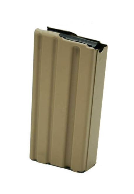 7rd .450 Bushmaster FDE Stainless Steel with black follower