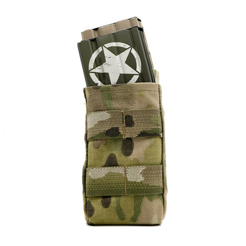 AR15/M4 Staggered Double Mag Pouch - Multi-Cam®  (Open Top)