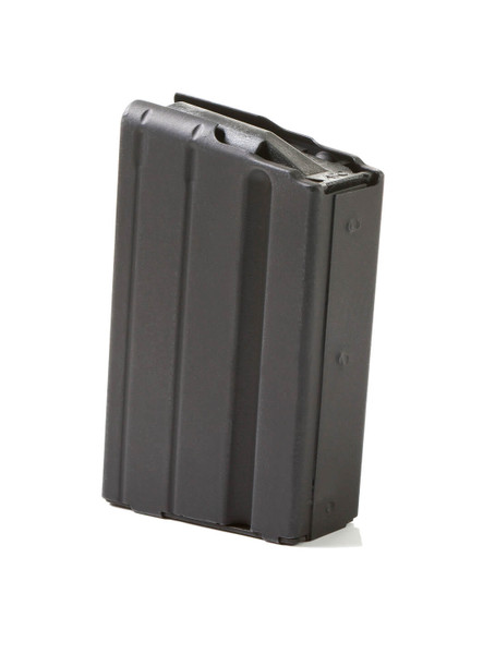 AR-15 5rd 7.62x39 Black Marlube Stainless Steel Magazine with Black Follower