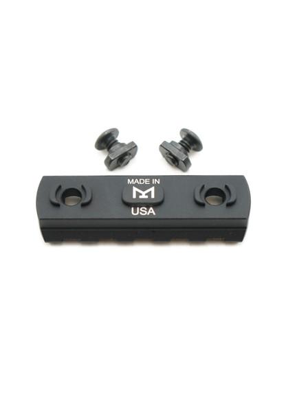 M-LOK 5 Slot Aluminum Rail Section