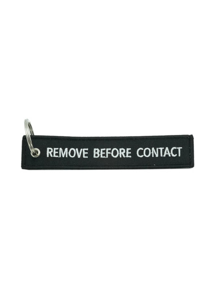 ASC Remove before contact key chain.