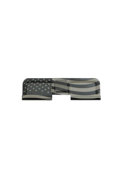 Laser Engraved American Flag AR-15 Dust Cover