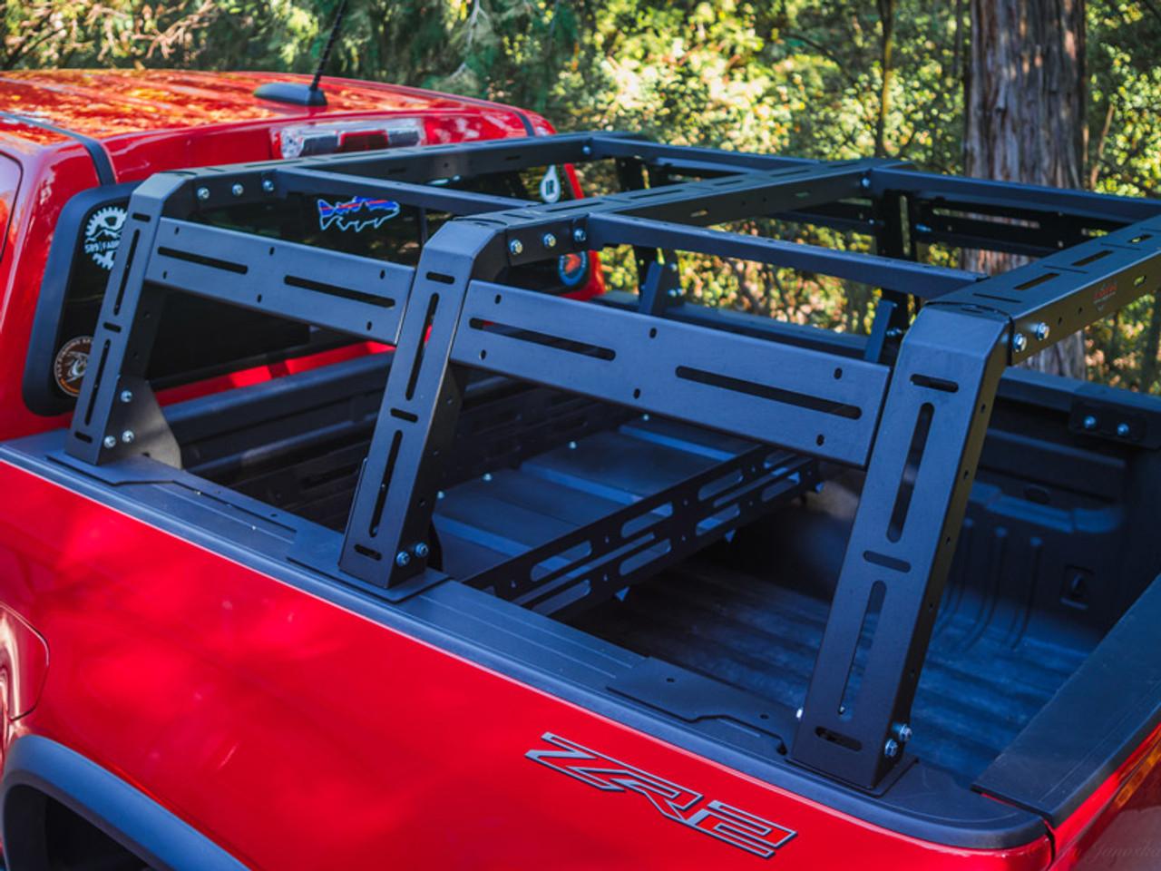Chevy Colorado Gmc Canyon Base Station Bed Rack 16 Datin Metal