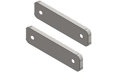 Toyota Accessory Track Mount Plates Pair