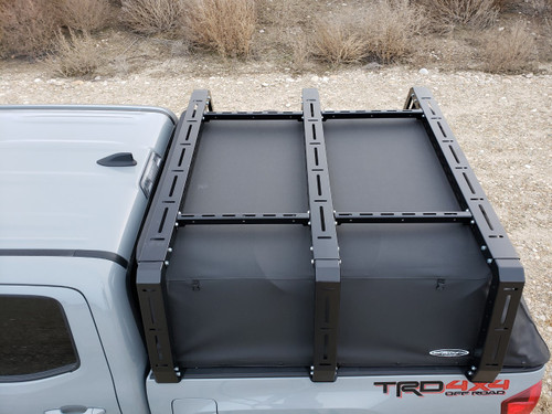Tacoma Canvas Cage Bed Rack Gen 3