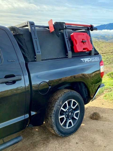 Toyota Tundra Canvas cage Softopper bed rack