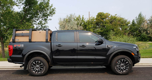 Ford Ranger Canvas Cage Bed Rack