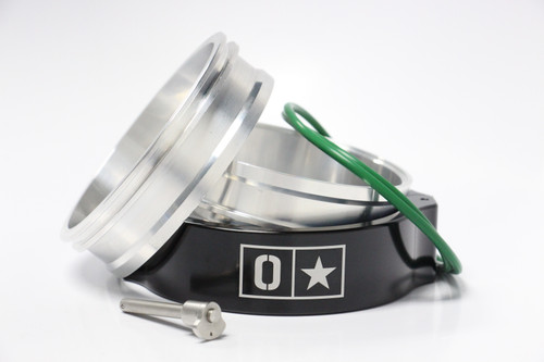 "Ostar HD 4.0"" Aluminum Clamp Kit - Black"