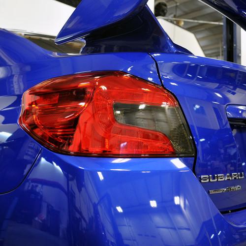 IAG-BDY-2015 IAG RockBlocker Smoke Reverse Light Overlay Film Kit for 2015 - 20 Subaru WRX and STI Sedan.