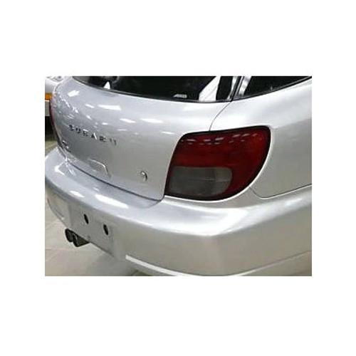 IAG-BDY-2018 IAG RockBlocker Smoked Tail Light Overlay Film Kit for Subaru 2002-03 WRX Wagon.