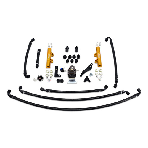 IAG-AFD-2624GD IAG Performance PTFE Fuel System Kit with Lines, FPR, Fuel Rails for 2008-14 WRX.