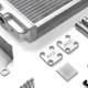034-102-1002 Supercharger Heat Exchanger Upgrade Kit for Audi B8/B8.5 Q5/SQ5